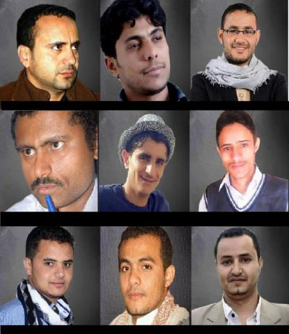 9 Media Workers Abducted by Houthi Rebels in Sana'a